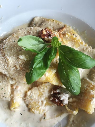 Food Italian Food Pasta Basil Basilikum Birne Pear Walnut Walnuss
