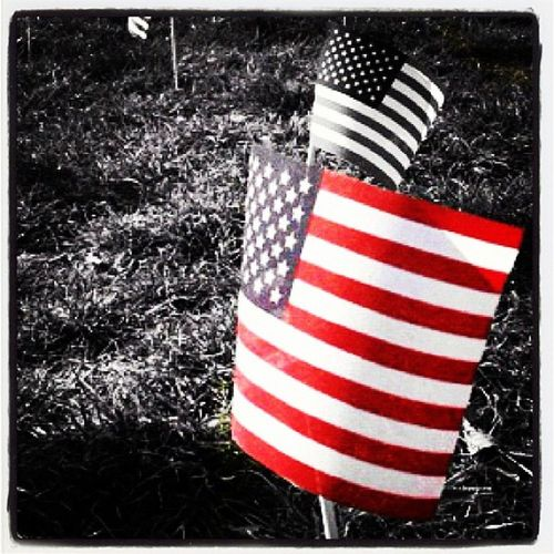 Happy Memorial Day! Vt Btv IPhoneography Red_white_blue Flag Insta_america Us 802 USA Miltonvt Bw Vt_scene Memorial Vermont_scene Remembrance Memorial_day Selective Color Long_weekend Vermont Stars_and_stripes Patriotic Instamood Sacrifice Thankyou Instagood