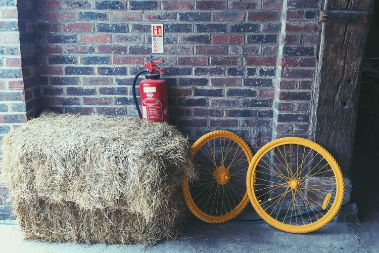 Hay Safety Brick Wall Countryside Country Life The OO Mission