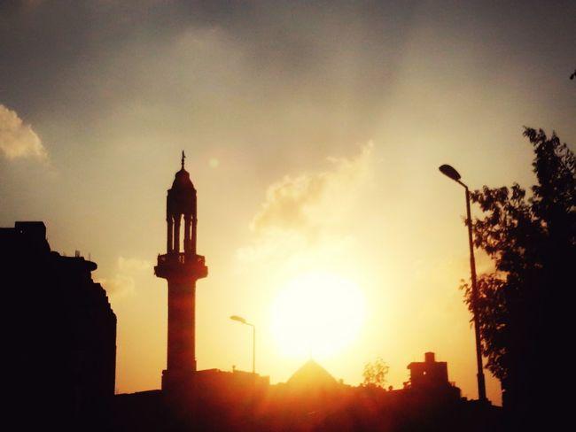 Slyporn Sky And Clouds Sky Sky_collection Sky Collection Sky And City Sky Photography Sun Sunset Sunset_collection Sunset Silhouettes Sunset And Clouds  Mosque Architecture Mosque Mosques Photography
