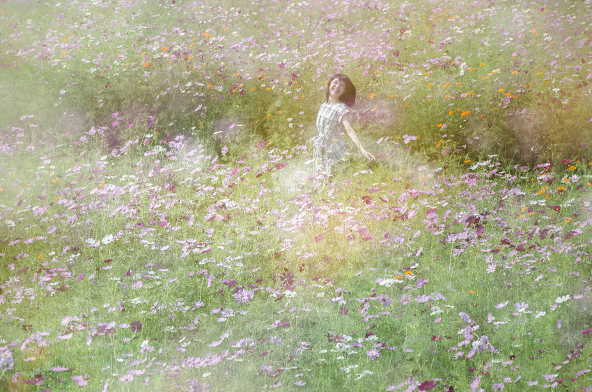 Beauty In Nature Blossom Emotional Photography Flower Flowering Joy Of Life Nature NonaNana Portrait Of A Woman