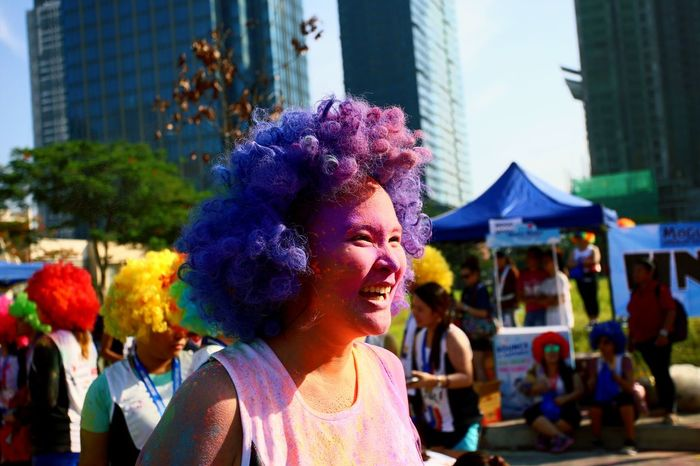 Girl Power Color Run Afro Run BGC Taguig