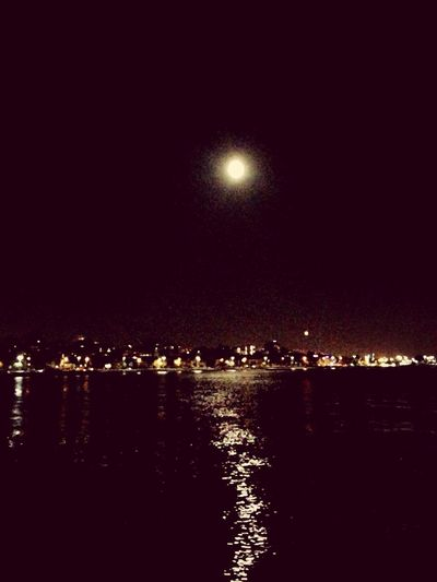 Moon Istanbul Sea Impressive