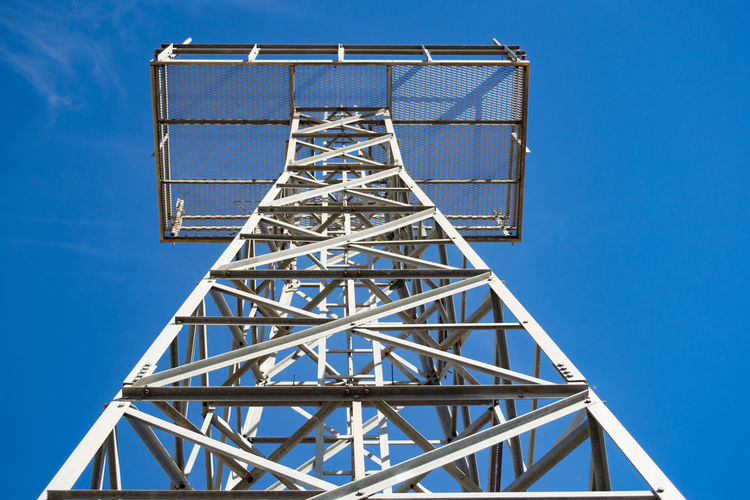 Architecture Built Structure Clear Sky Day Low Angle View No People Steel Structure  Tower