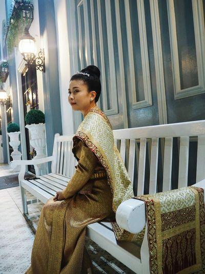 Young Women Period Costume Millionnaire Beautiful Woman Beauty Beautiful People Sitting Luxury Glamour Gold Colored