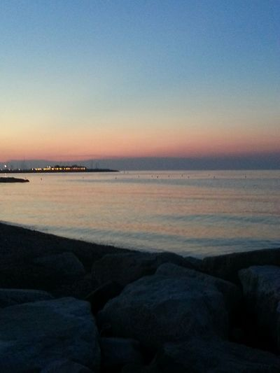 Sunset Sunsetlover Beach Sunset On The Beach Fano Italy Weekend Weekend With My Love