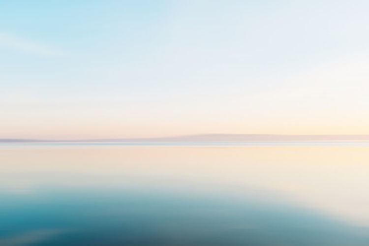 Clean Beach Beauty In Nature Blue Clear Sky Day Fujifilm_xseries Horizon Over Water Idyllic Landscape Nature No People Outdoors Reflection Salt - Mineral Salt Flat Scenics Sea Sky Sunset The Natural World Tranquil Scene Tranquility VSCO Water
