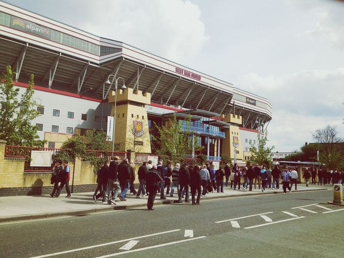 Football West Ham Utd Day Out London East London Greenstreethooligans December