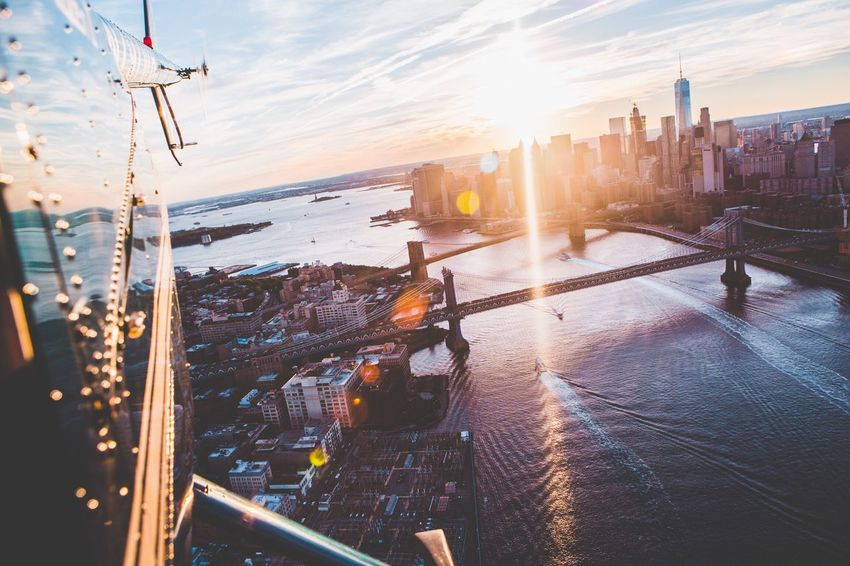 Battle Of The Cities NYC Photography Aerial View Architecture Cityscapes Bridge Traveling NYC Skyline Sky New York ❤ Manhattan Brooklyn New York City New York New City Life Best EyeEm Shot EyeEm Best Shots TimesSquare Hanging Out