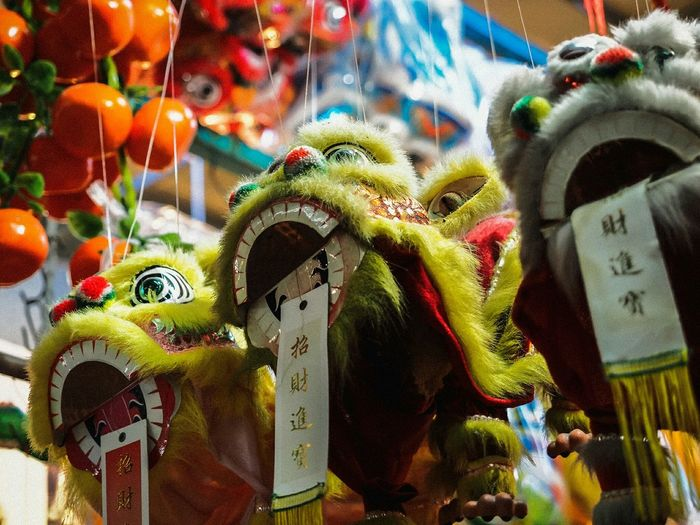 Chinese Dragon Toys For Sale At Market