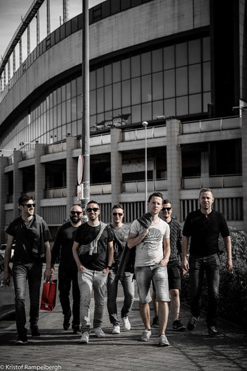Calderón City Day First Eyeem Photo Front View Full Frame Fun Madrid Men Mid Adult Mid Adult Men Outdoors People Pleasure Real People Teamwork Togetherness EyeEmNewHere