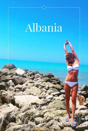 Where else to go for holidays 😊🏊🏼🍷🍤🍀🍤🍷🏊🏼😊 Albania Adriatic Coast Ionian Coast Summer Holidays Shqiperia