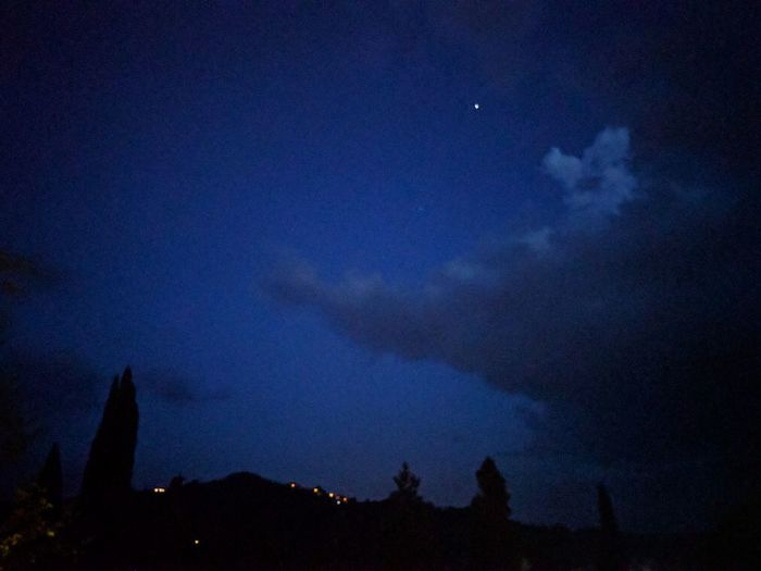 Tuscany Blue Outdoors Night Star No People Beauty In Nature Cloud - Sky Traveling Visiting Relax Gastronomia Toscana Culture & History Chiusi Siena Italy