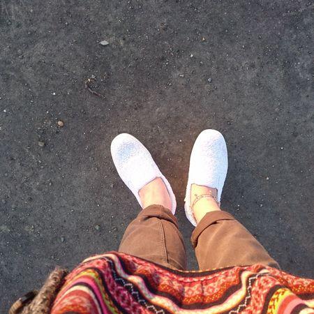 なおphoto お散歩Photo 道民の掟 季節で服装が薄着に 年中素足