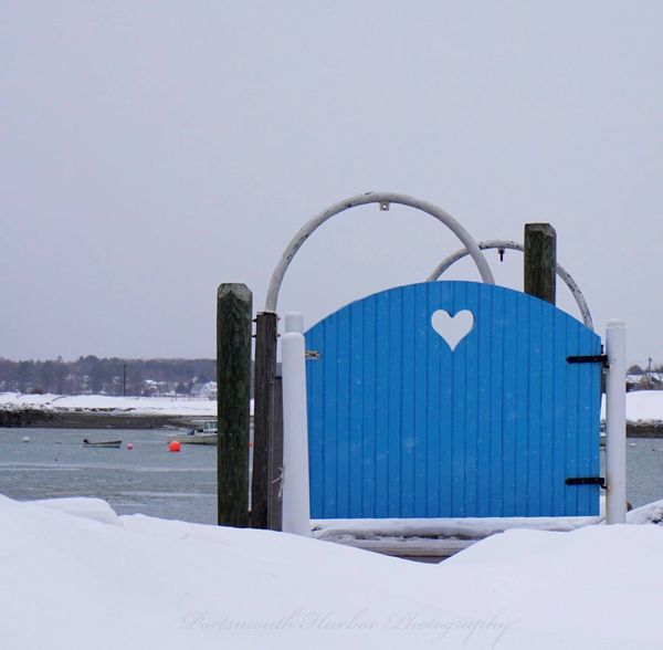 Happy Valentine's Day on a road less traveled. New England  Heart Valentines Day NH Seacoast New Hampshire RYE (null)Love EyeEm Best Shots