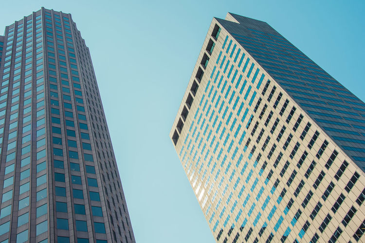 Architecture Boston Boston, Massachusetts Let's Go Explore Skyscrapers USA Architecture Building Building Exterior Built Structure City East Coast Eyeem Architecture Lover Glass - Material Last Summer Low Angle View Modern Office Office Building Exterior Sky Skyscraper Tall - High Urban Landscape Usa Trip 2017 Windows