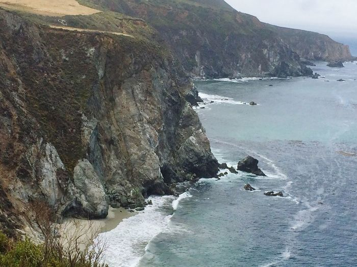 California #coastline Ocean Pacific Quicksnap #California Coast PCH Pacificcoasthighway Coastline Coastal Feature Water Canonphotography Canon