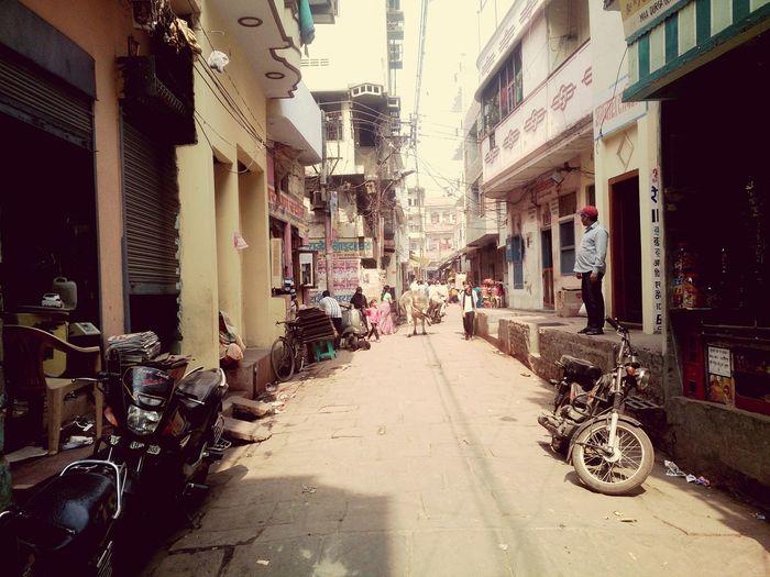 A Street In Inda Varanasi Short Trip Oldest City Of World