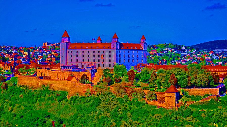 Bratislava Castle Architecture Colors Picoftheday Melancholic Landscapes