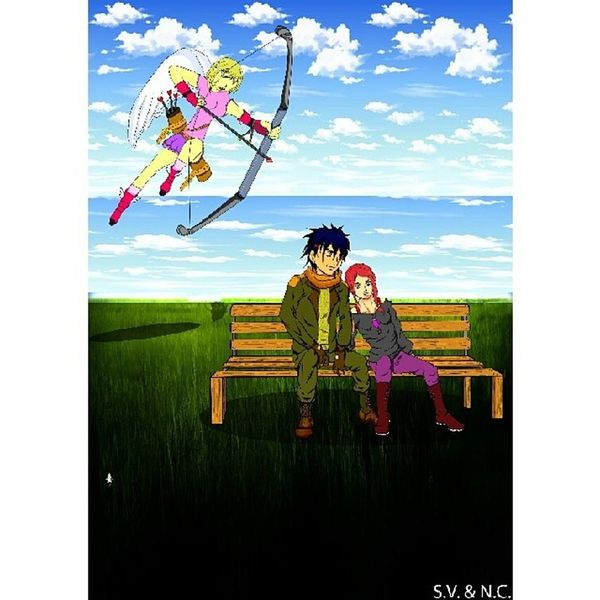 http://xyetz.com/happy-valentines-day-2/ Dessins Dessin Mangaart Manga man woman Valentine tablettegraphique tagsforlikes draw drawingwork art artwork drawing animemanga animefan otaku pencilcolors