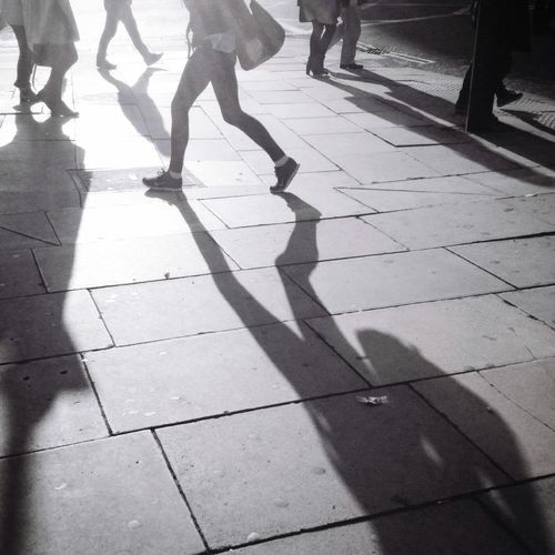 Low Section Shadow City Real People Street Human Leg Body Part Sunlight Group Of People Outdoors Walking Human Body Part