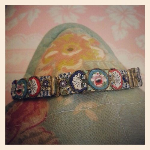 Colourful new addition to my bracelet collection Italian Vintage Mosaic Old Addiction Bracelet