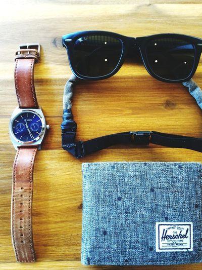 Men's thing Sunglasses Fashion Table Eyewear Wood - Material Lifestyles Cafe Pocket Money Rayban Nixon Watch NIXON™ ⌚ Herschel Supply Co.