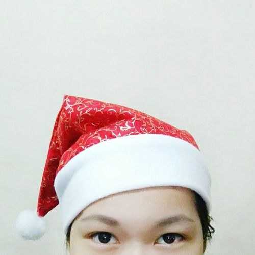 Holiday hat Santawannabe Christmas Red Selfie