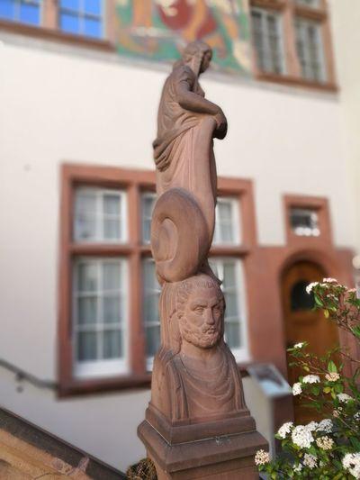 EyeEm Selects Statue Sculpture Figurine  Close-up Architecture Building Exterior