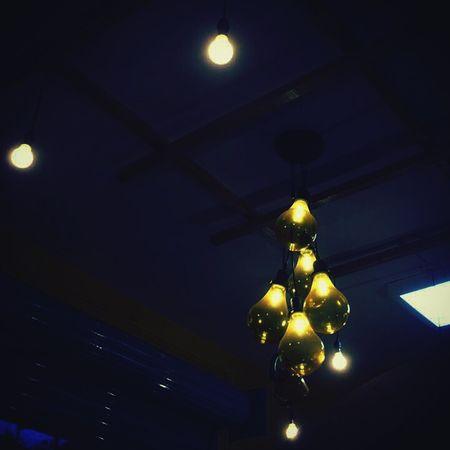 The dance between darkness and light will always remain 🌑 Lighting Equipment Illuminated Night Indoors  Light Bulb Hanging
