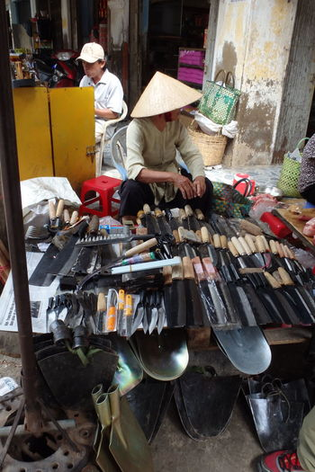 Can Gio trip near Saigon, Ho Chi Minh City, Vietnam Arrangement Can Gio Chinese Hat For Sale Ho Chi Minh City Knife Large Group Of Objects Market Mekong Saigon Sale Shelf Store Tourism Traveling Variation Vietnam