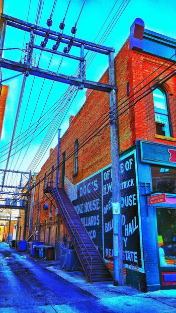 Rapid City Back Alleys Road Trip Smartphone Photography Creative Editing