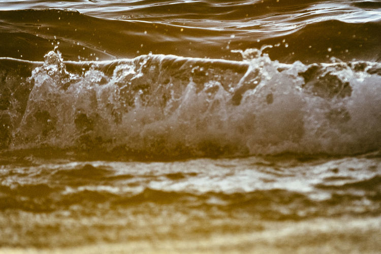 Beauty In Nature Motion Nature No People Outdoors Sea Sommer Sommergefühle Splashing Summer Sunset Sunset_collection Water Waterfront Wave Waves Waves Crashing Waves Rolling In Waves Splashing Waves, Ocean, Nature