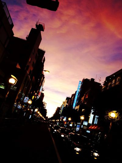 Evening Evening Sky City Life Tokyo Street Photography Tokyo Tokyo,Japan Ricoh Ricoh GRD IV 大久保通り Colour Of Life Battle Of The Cities The City Light