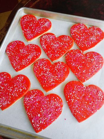 Bakery Cookies Heart Valentine's Day