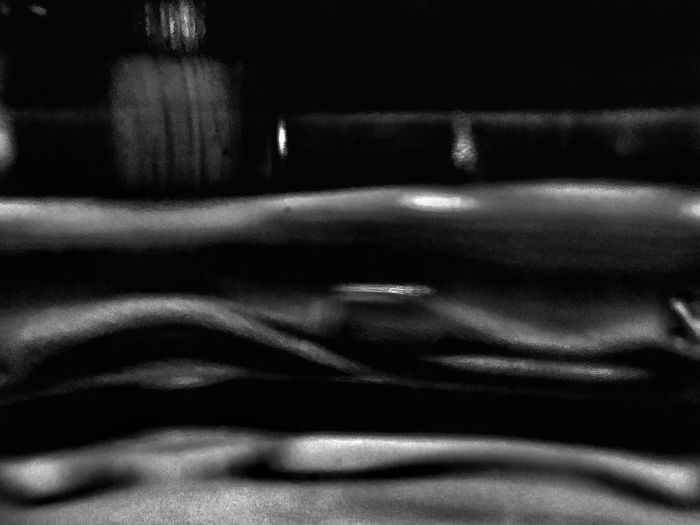 Notes From The Underground Blackandwhite Abstract