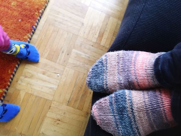 Hardwood Floor Low Section Indoors  Sock Human Body Part One Person Human Leg Close-up Real People Chores Day People Adult