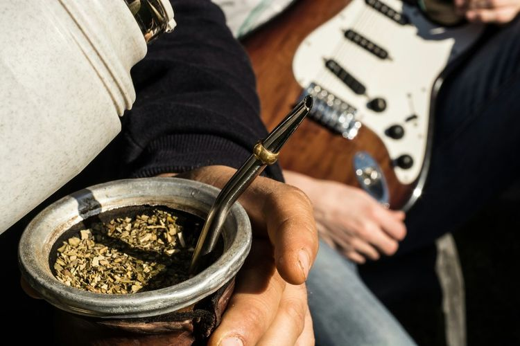 Mate and guitar... Argentina Mate Guitar