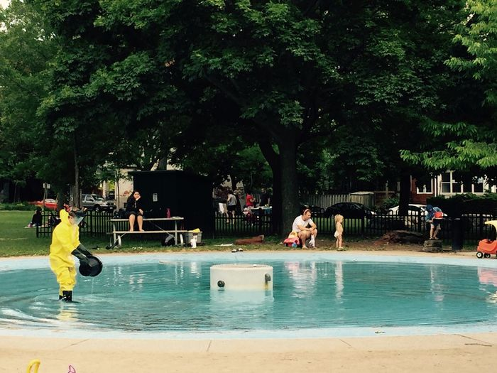 Hazmat Pool Public Swimming Summer Kids Children Infants Cleaning Hazardous