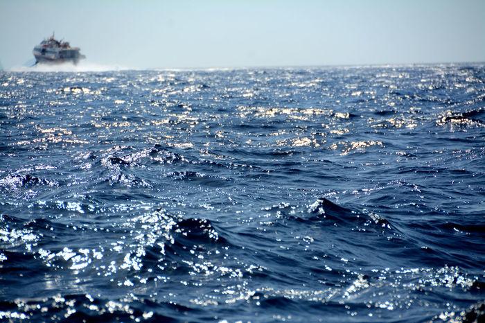 Favignana's Sea Mediterranean Sea Sicily Summertime Italy❤️ Sea Life Seascape Ships⚓️⛵️🚢
