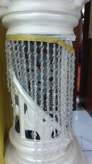 Close-up No People Indoors  Pillar Diamond! Diamond String White Diamond Curtain Diamond Fall