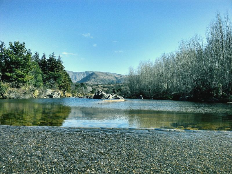 River River View Naturaleza Nature Beauty In Nature Beautiful Sky First Eyeem Photo Argentina Cordobaargentina Mountains Mountain Trees Otoño