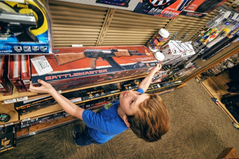 Photo essay - A day in the life. Cabela's Outfitters Kearney, Nebraska November 6, 2016 A Day In The Life American Americans Boys Will Be Boys Business Finance And Industry Cabela's Camera Work Culture EyeEm Gallery Guns Kidsphotography Middle America Nebraska Outfitter Photo Diary Photo Essay Retail Store Shopping Sporting Goods Shop Storytelling Toys Travel Photography Visual Journal Weekend You'll Shoot Your Eye Out