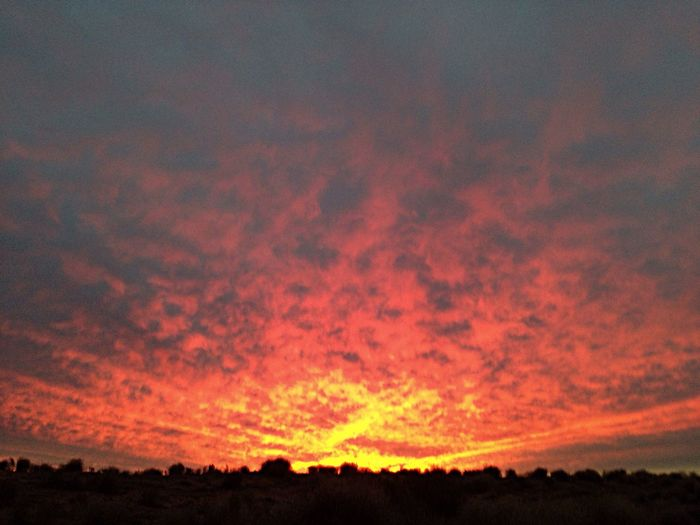 Cooper Basin South Australia Alphabetography Z Sunset Sky And Clouds Beautiful