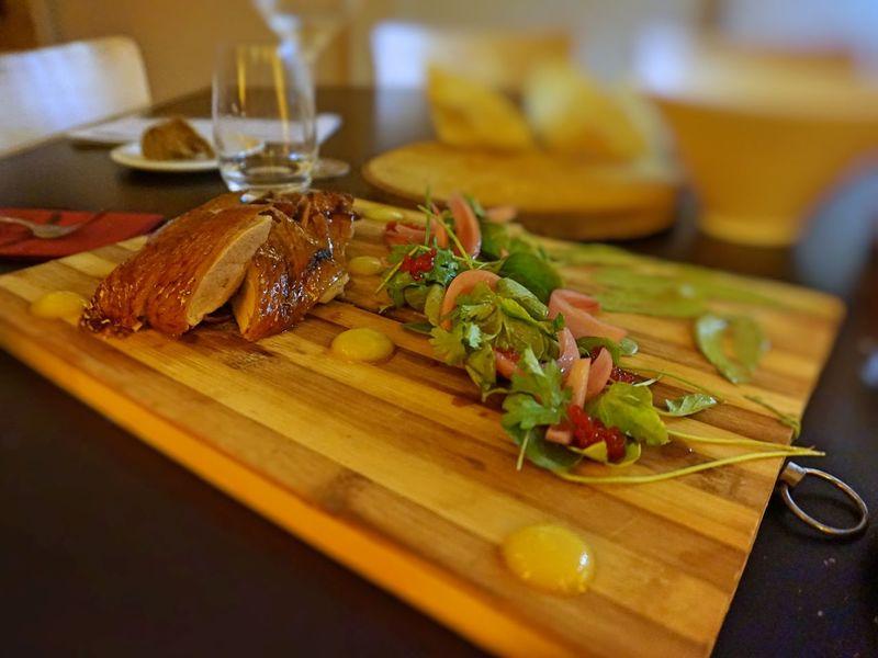 Roast duck Food Healthy Eating Ready-to-eat Roast Duck Table