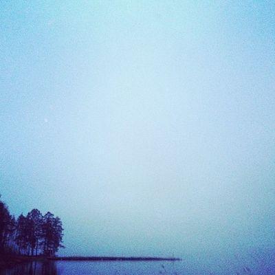 Edge of water and heaven H älsingland Dellensj ön Delsbo