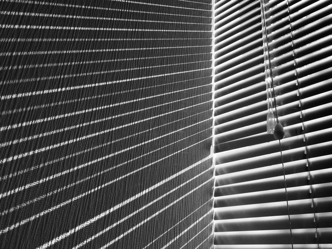 Indoors  No People Blackandwhite Nocolor Lines And Shapes Window