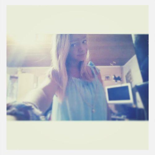 bliblaboring<3 Me Girl Blondie Green Eyes<3!