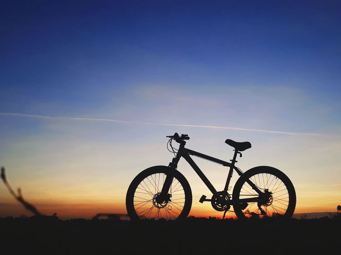 keep moving Bicycle Sunset Silhouette Cycling Sky Sun Summer Landscape Adventure Child Outdoors Nature Mountain Bike Day