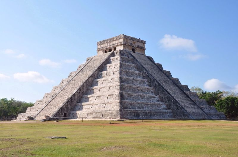 Chichen Itza Maya Pyramid